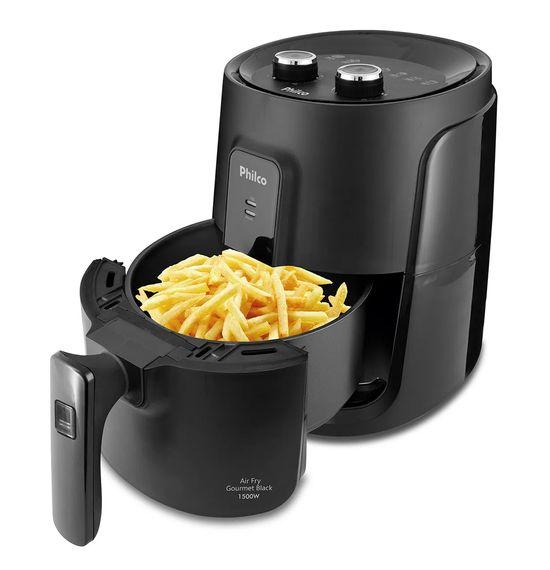 Fritadeira-Philco-Air-Fry-Gourmet-Black-PFR15P-4L-1500W-4