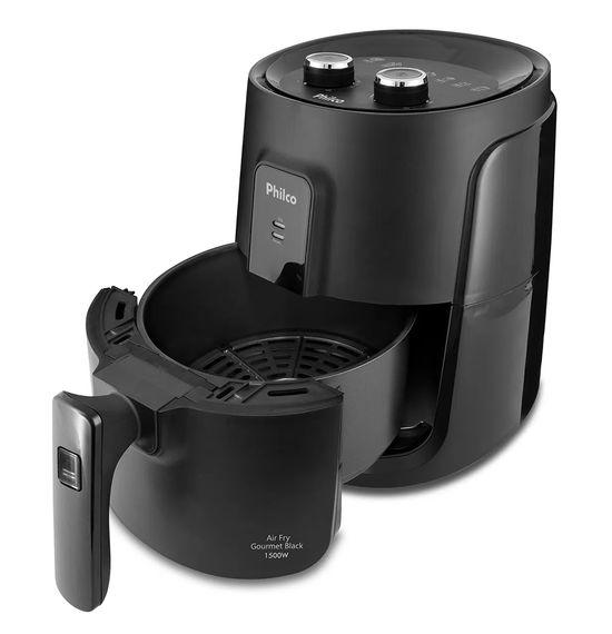Fritadeira-Philco-Air-Fry-Gourmet-Black-PFR15P-4L-1500W-5