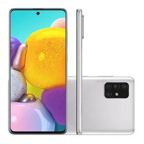 Smartphone-Samsung-Galaxy-A71-Tela-67-128GB-6GB-RAM-Octa-Core-Camera-Quadrupla-e-Selfie-32MP-Prata