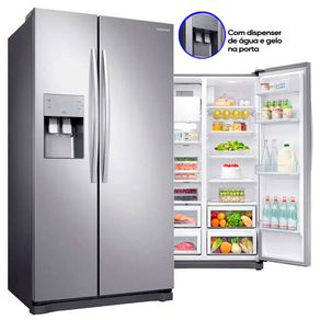 Geladeira-Samsung-Side-By-Side-RS50N3413S8-501-Litros-Frost-Free-Inox-Look