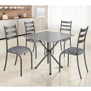 Conjunto-de-mesa-com-4-cadeiras-Madmelos-75x75cm-com-tampo-de-granito