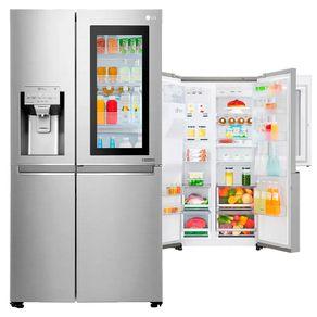 Geladeira-LG-New-Lancaster-Side-by-Side-InstaView-Door-in-Door™-601-Litros-com-Hygiene-Fresh-™