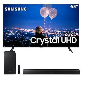 Samsung-Smart-TV-65-Crystal-UHD-TU8000-4K---Soundbar-Samsung-HW-T555-com-Subwoofer-sem-fio--