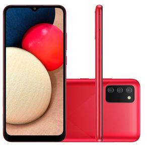 Smartphone-Samsung-Galaxy-A02-Tela-de-6.5-Camera-Dupla-Traseira-13MP---2MP-32GB-2GB-RAM-Quad-Core-Bateria-5000mAh--