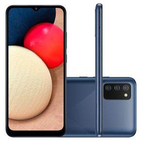 Smartphone-Samsung-Galaxy-A02-Tela-de-6.5-Camera-Dupla-Traseira-13MP---2MP-32GB-2GB-RAM-Quad-Core-Bateria-5000mAh---azul