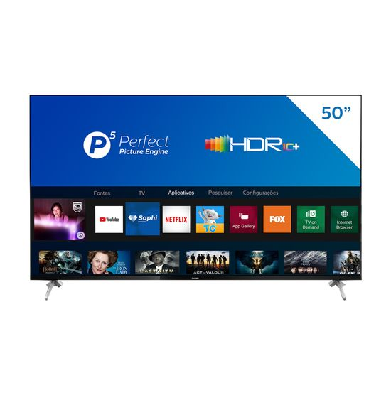 Smart-TV-LED-Philips-50-4K-UHD-50PUG7625-78-com-HDR10--Dolby-Vision-Dolby-Atmos-Wi-Fi-Bluetooth