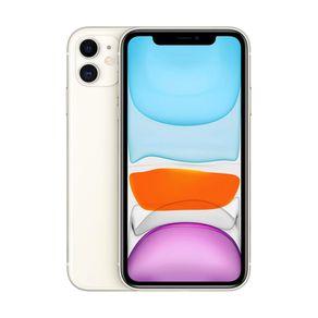 """iPhone-11-Apple-128GB-Branco-Tela-de-61""""-Camera-Dupla-de-12MP-iOS-"""