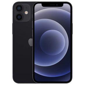 """iPhone-12-Mini-Apple-64GB-Preto-Tela-de-54""""-Camera-Dupla-de-12MP-iOS-"""