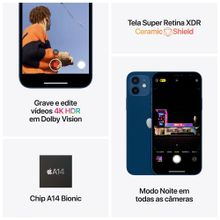 """iPhone-12-Mini-Apple-64GB-Preto-Tela-de-54""""-Camera-Dupla-de-12MP-iOS-4"""
