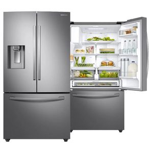 Geladeira-Samsung-RF23R6201SR-536L-Inverter-Frost-Free-Smart-French-Door-Twin-Cooling-Plus™-Inox-Look