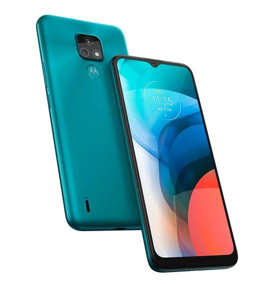 """Smartphone-Motorola-Moto-E7-32GB-2GB-RAM-Tela-de-6.5""""-Camera-Traseira-Dupla-Android-10-e-Processador-Octa-Core--aquamarine-5"""