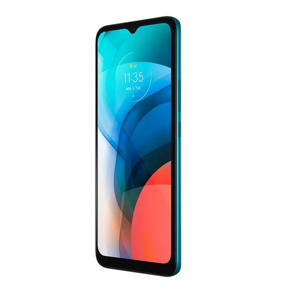 """Smartphone-Motorola-Moto-E7-32GB-2GB-RAM-Tela-de-6.5""""-Camera-Traseira-Dupla-Android-10-e-Processador-Octa-Core--aquamarine-6"""