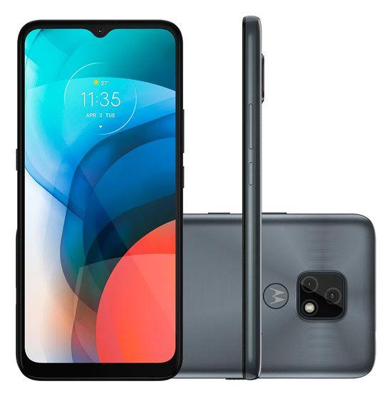 "Smartphone-Motorola-Moto-E7-64GB-4GB-RAM-Tela-de-6.5""-Camera-Traseira-Dupla-Android-10-e-Processador-Octa-Core-cinza-metalico-"