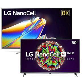 Smart-TV-LG-NanoCell-96SNA-65-8K-IPS-WiFi-Inteligencia-Artificial---Smart-TV-LG-50-4K-NanoCell-NANO79SND-WiFi-HDR-ThinQAI-