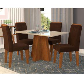 mesa-patricia-4-cadeiras-thais--savana-off-white