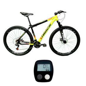 Bicicleta-MTB-Track---Bikes-Troy-Aro-29-Suspensao-Dianteira-21-Marchas-Gratis-Velocimetro
