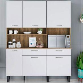 Kit-Cozinha-Itatiaia-I1-com-6-portas-e-2-gavetas