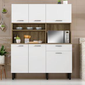 Kit-de-Cozinha-Itatiaia-I1-6-Portas-e-1-Gaveta
