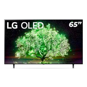 Smart-TV-LG-65---4K-OLED65A1-Dolby-Vision-IQ-Dolby-Atmos-Inteligencia-Artificial-ThinQ-AI-Google-Alexa