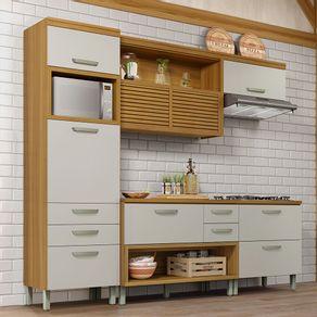 Cozinha-Compacta-Nesher-Princesa-4-Pecas-com-Torre-Fria