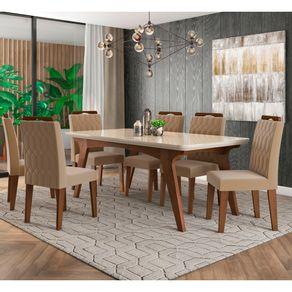 Mesa-de-Jantar-Com-6-Cadeiras-Cimol-Selena-180x90---Savana--Off-White